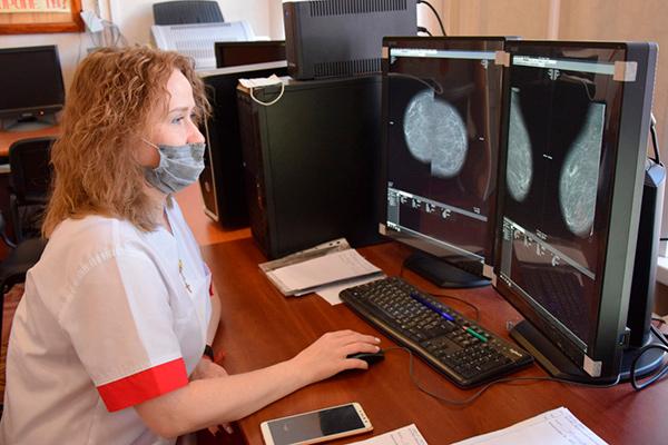 Новый цифровой маммограф запустили в Череповце